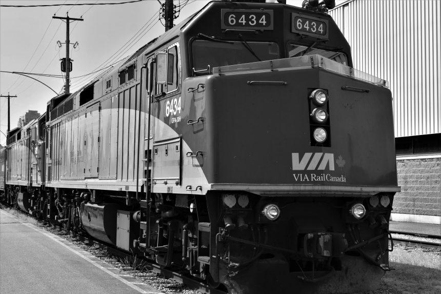 Affection for passenger trains