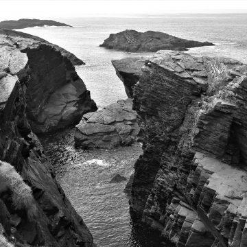 Craggy cliffs